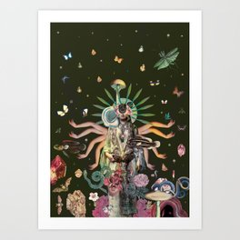 Logic of a Dream Art Print