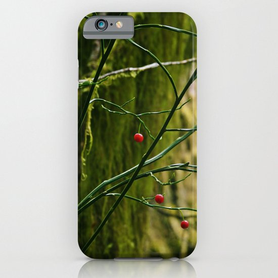 Red in the Forest iPhone & iPod Case