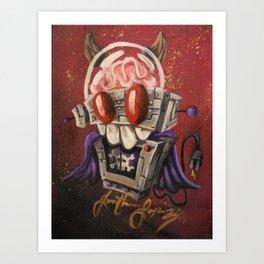 Robotronic: Evil Bot Art Print