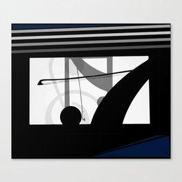 Four Strings Canvas Print