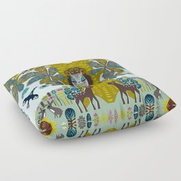 The Horse Chestnut {Day} Floor Pillow