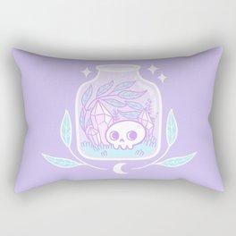 Pastel Terrarium Rectangular Pillow