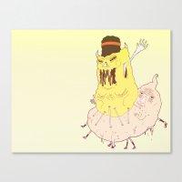 sasquatch Canvas Prints featuring Sasquatch by WaveOfTeeth