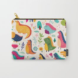 Funny dinosaurs Carry-All Pouch