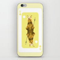 house of cards iPhone & iPod Skins featuring House of Cards #1 by Francine