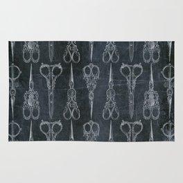 Gothic/Victorian Scissors Rug