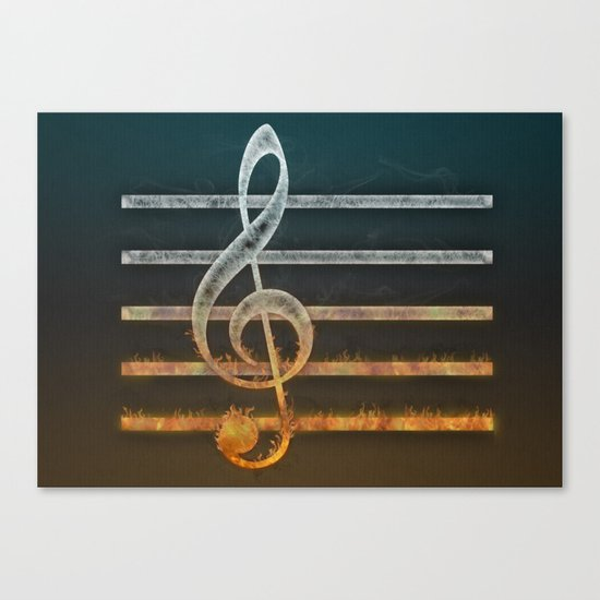 A Song of... Canvas Print