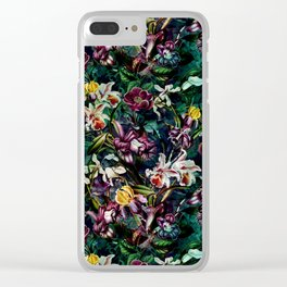 SECRET GARDEN II Clear iPhone Case