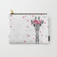 FLOWER GIRL GIRAFFE Carry-All Pouch