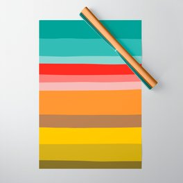Color Stripes Wrapping Paper