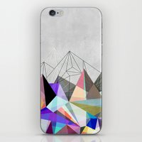lines iPhone & iPod Skins featuring Colorflash 3 by Mareike Böhmer