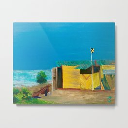 Jamaica. Jamaican Blues Metal Print