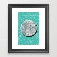Eclipsed. Framed Art Print