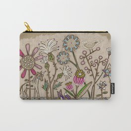 Magic Garden Pattern Carry-All Pouch