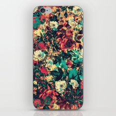 RPE FLORAL V iPhone & iPod Skin