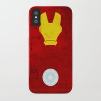 iron man iPhone & iPod Cases featuring Iron Man by theLinC