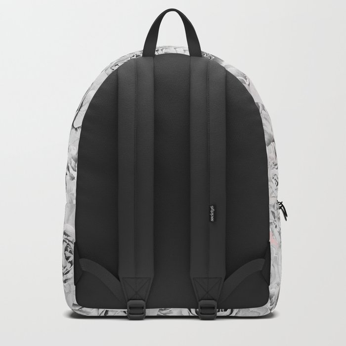 White roses Backpack