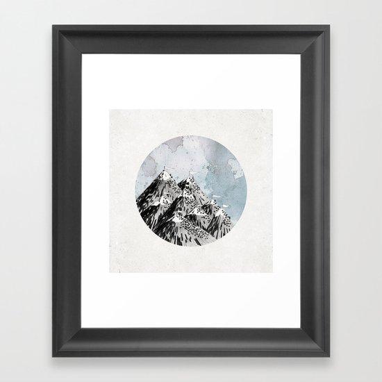 How Many Roads Framed Art Print