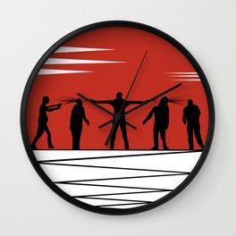 Zombie Controol (Moon headshot) Wall Clock