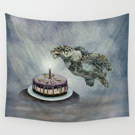 Turtle Birthday Wall Tapestry