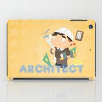 architect iPad Cases featuring Architect by Alapapaju