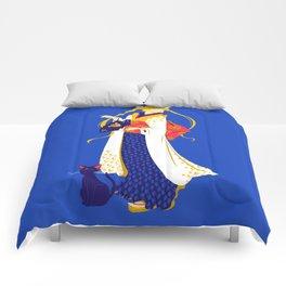 Geisha Moon Comforters