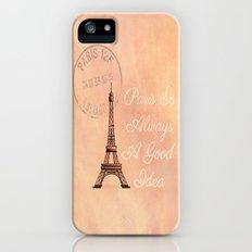 Vintage Paris is Always a Good Idea  iPhone (5, 5s) Slim Case