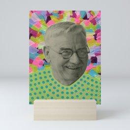 Lost Abstract Happiness Mini Art Print