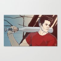 stiles Canvas Prints featuring stiles by kala