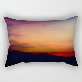 Afterglow II Rectangular Pillow