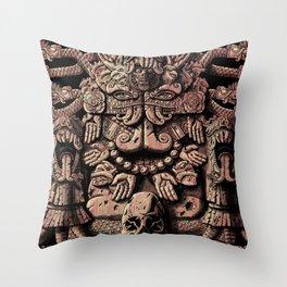Coatlicue Throw Pillow