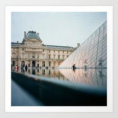 The Louvre - Paris, France Art Print
