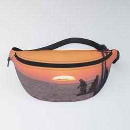 Sunset Fishing Fanny Pack