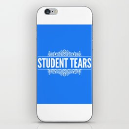 Student Tears iPhone Skin