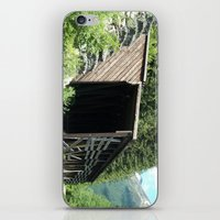 john snow iPhone & iPod Skins featuring Snow Shed by NoelleB
