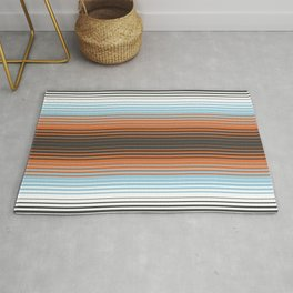 Deconstructed Serape in Multi Rug