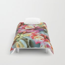Technicolor Petal   Floral Comforters