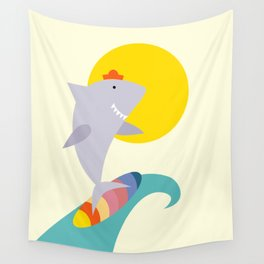 sea shark Wall Tapestry