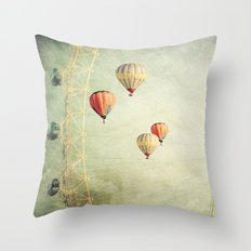 Tales of Another Time Throw Pillow