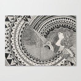 Aztech Patterns Canvas Print