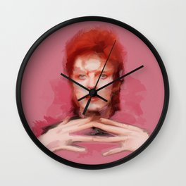 Unwashed and Slightly Dazed Wall Clock