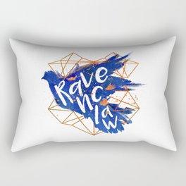 Ravenclaw Bronze Splatter Rectangular Pillow