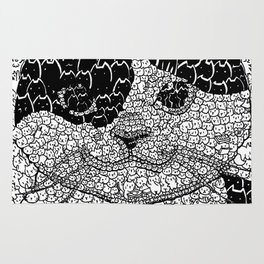 Swarm of Cats Rug