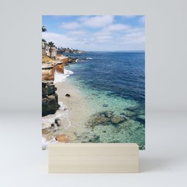 California Coast Mini Art Print