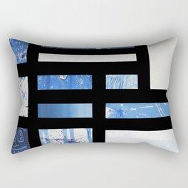 """Bopicity Blues"" Rectangular Pillow"