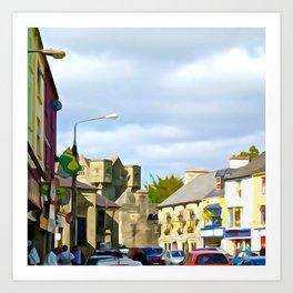 Donegal Town Art Print