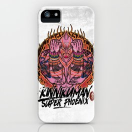 Muscle man#02 iPhone Case