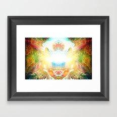 Consciousness Awakening Framed Art Print