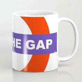 Mind The Gap Logo Coffee Mug