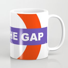 Mind The Gap Logo Coffee Mug